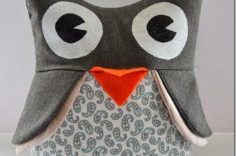 Owl Plushie Pattern by Hammer & Thread