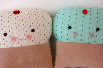 Christa Cupcake Plushie Pattern by Bit of Whimsey Dolls