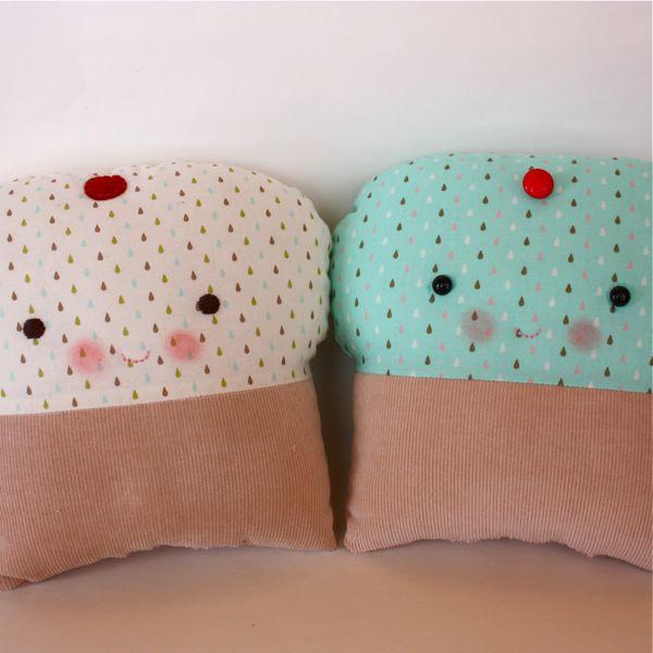 cupcake plushie pattern
