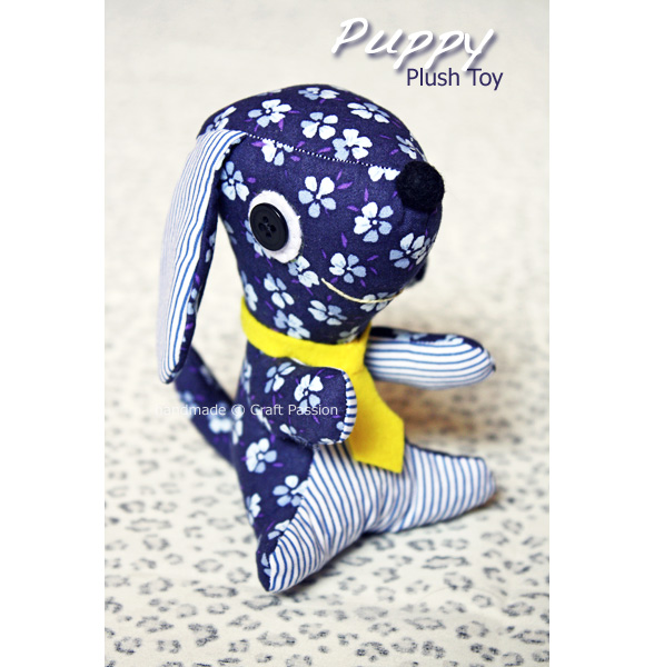 puppy plushie pattern by craft passion