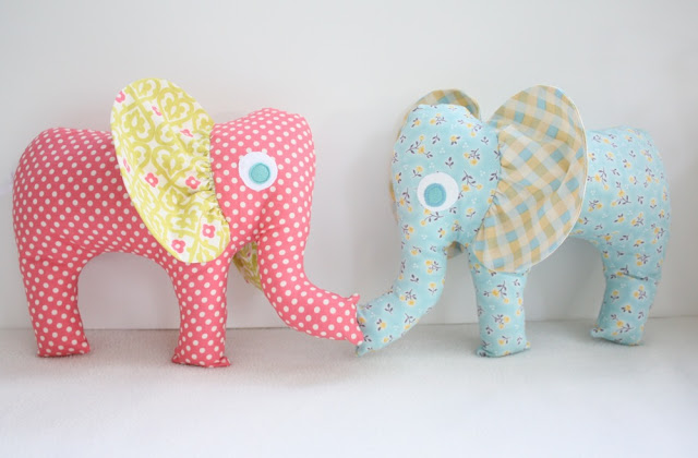 Elephant Plushie Pattern by Craftiness is not optional