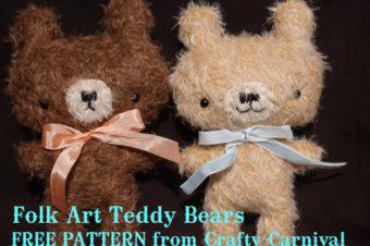 Folk Art Bear by Crafty Carnival