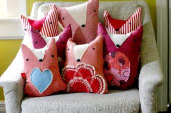 Fox Plushie Pattern by A Beautiful Mess