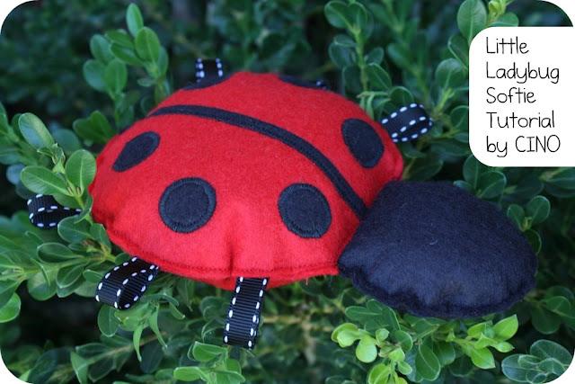 ladybug plushie pattern