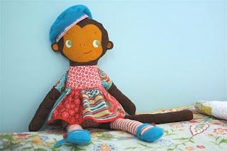 Plushie Pattern Molly Monkey by MMMCrafts