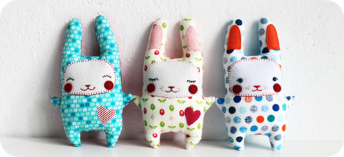 stuffed easter bunny pattern