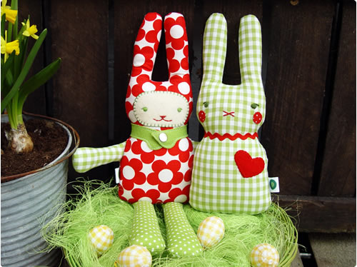 stuffed easter bunny tutorial