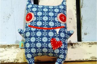 Monster Plushie Pattern by Revoluzzza
