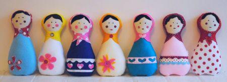 Matryoshka Doll Pattern By Snipsnaphappy