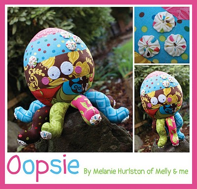 Oopsie the Octopus by Melly & Me