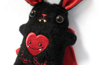 Vampire Bunny Plushie Pattern by Instructables