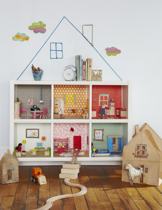 Bookcase Dollhouse by Honest to Nod