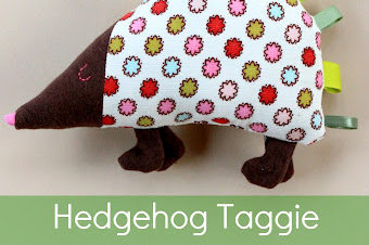 Hedgehog Taggie Plushie Pattern by While Wearing Heals