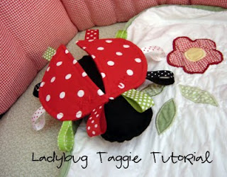 Ladybug Taggie Plushie Pattern by Everyday Celebrations