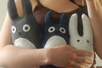 Totoro Plushie Pattern by Cut out and Keep