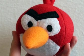 Angry Birds Plushie Pattern by Obsessively Stitching