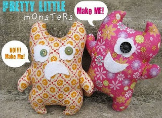 Pretty Little Monsters Plushie Pattern by Q.D. Patooties