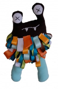 Tag Monster Plushie Pattern by Craft Schmaft