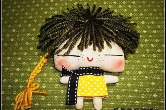 Primitive Doll Stuffie by Bekin Craft
