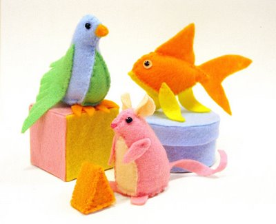 cat toy critters