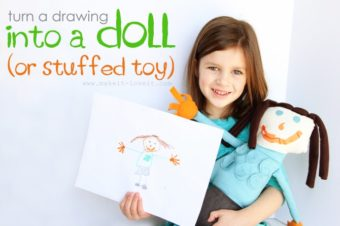 Child's Drawing to Plushie by Make it and Love it