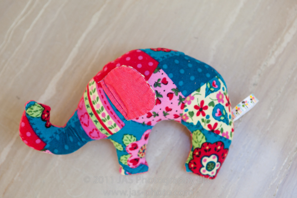 Elephant Stuffie by By Hand