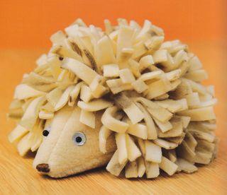 Harriet Hedgehog Plushie Pattern by Craftside