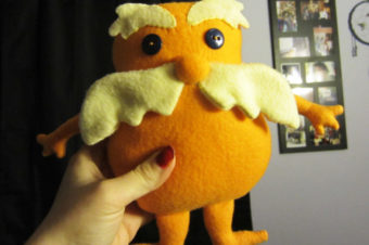 Lorax Stuffie pattern