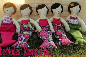 Mermaid Doll Tutorial by The Crafting Fiend
