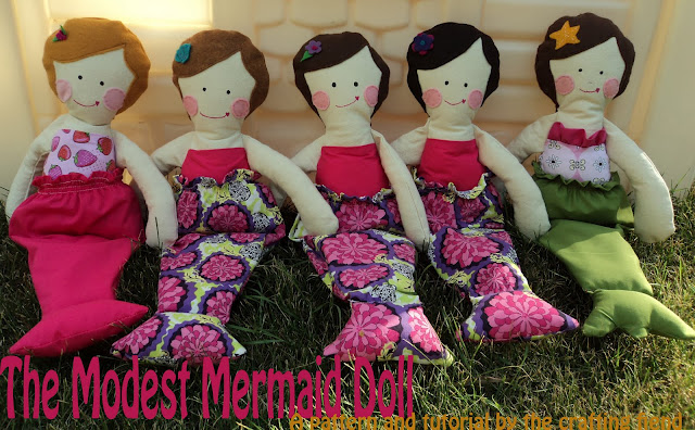 Mermaid Doll Tutorial by The Crafting Fiend