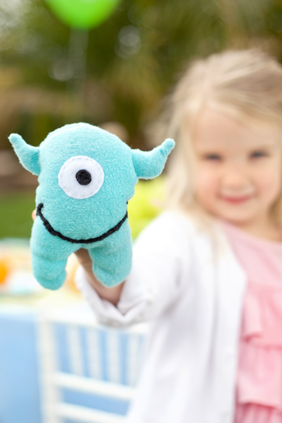 Monster Stuffie by One Charming Party