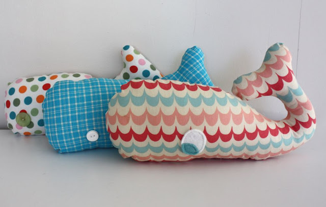 Whale Stuffie by Craftiness is not an option