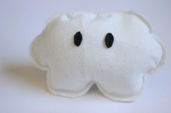 Cloud Rattle Plushie by See Kate Sew