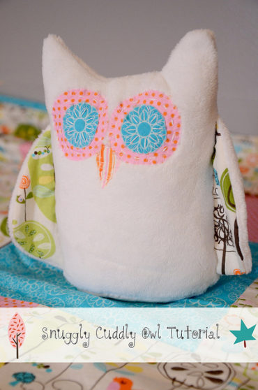 Cuddly Owl Plushie Pattern by New Green Mama