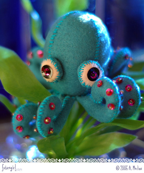 Sigmund the Octopus by Futuregirl