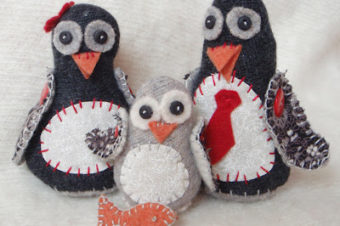 Penguin Plushie Pattern by Lucy Kate Crafts