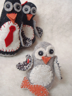 Baby Penguin Plushie Pattern by Lucy Kate Crafts
