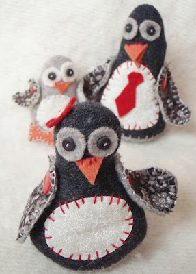 Momma Penguin Plushie Pattern by Lucy Kate Crafts