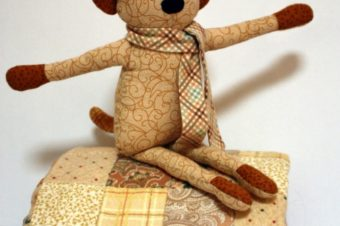 Dog Blog Plushie Pattern by Sew in the Moment
