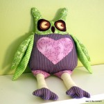 Owl Plushie Pattern by Sew in the Moment