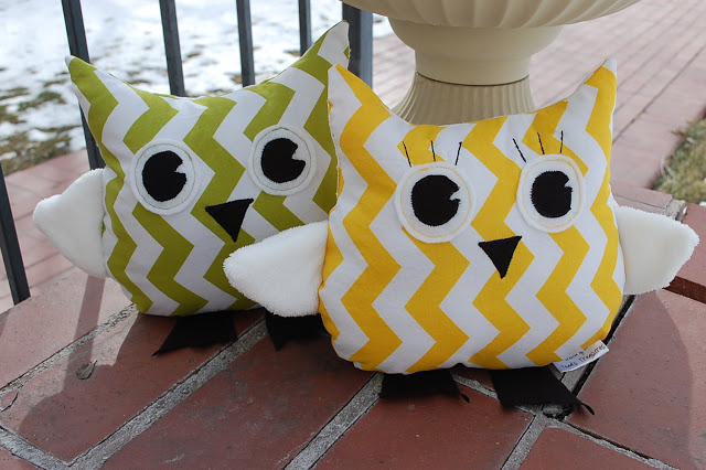 Owl Plushie Pattern by Toad's Treasures