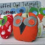 Hoot Hoot Owl Plush Pattern by Monkey See Monkey Do