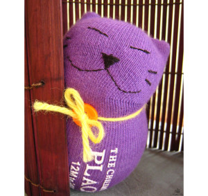 Cheeky-Lenny sock kitty