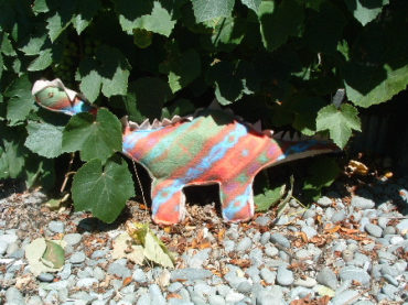 Stuffed Dinosaur Plush Pattern by Monkey See Monkey do