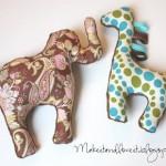 Giraffe Plushie Pattern by Make it and Love it