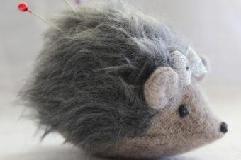 Hedgehog Plushie Pattern by Maker Land