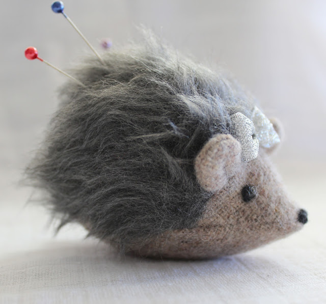 Hedgehog Plushie Pattern by Maker Land