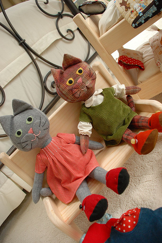 Kitty Cat Doll Free Pattern