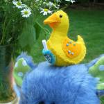 Lucky Ducky Plush Pattern by Nosey Nest
