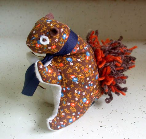 Squirrel Plush Pattern by We Wilsons